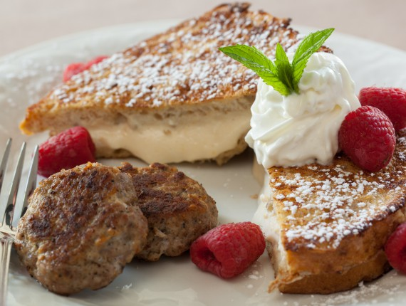 Apricot Stuffed French Toast at Afton Mountain B&B