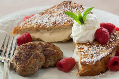 apricot stuffed french toast