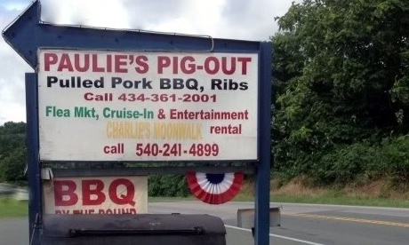 Paulie's Pig Out, Afton