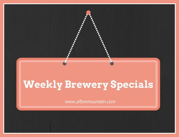 Weekly Brewery Specials
