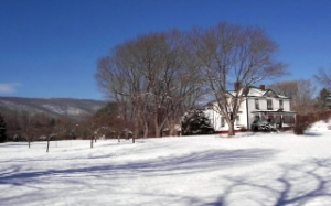 winter view of afton mountain bed & breakfast