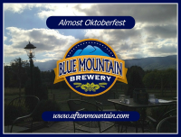Oktoberfest at Blue Mountain Brewery